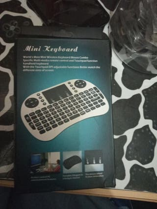 teclado inalámbrico smart TV