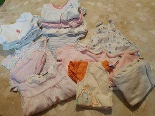 Pack ropa 0-3 meses de entretiempo.