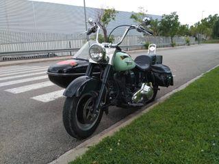 Harley Davidson con Sidecar