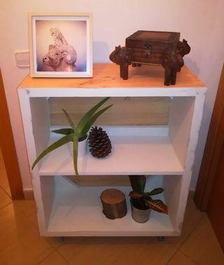 Mueble de pino estilo nordico/industrial