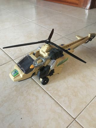 Helicóptero-velociraptor
