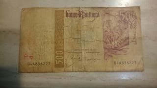 billete 500 escudos portugal