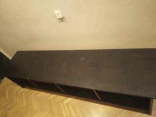 mueble madera TV ikea