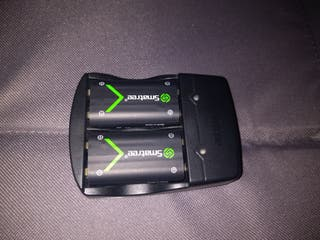 Smatree Cargador + 2 baterías para Mando Xbox One
