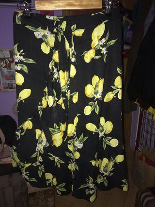 Falda de limones