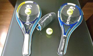 Raquetas de tenis nuevas sin estrenar.