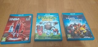 Lote Juegos Wii u COMO NUEVOS