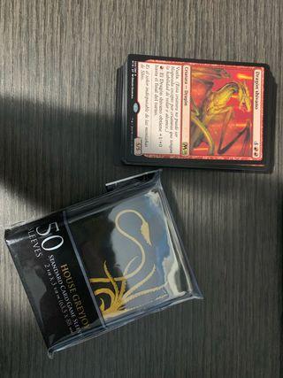 Fundas cartas magic juego de tronos
