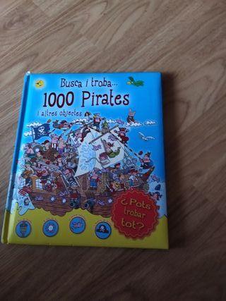 "Libro "" Busca i Troba 1000 pirates"""