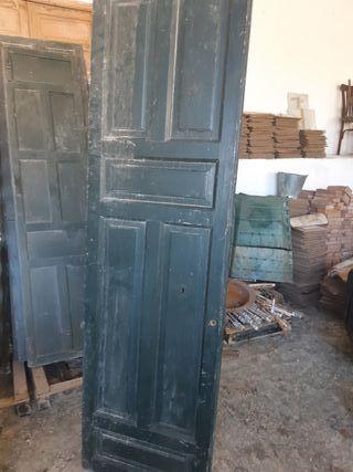 Puerta de 2 hojas madera