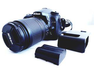 Cámara Nikon D 7200 + Objetivo DX 18/140mm G