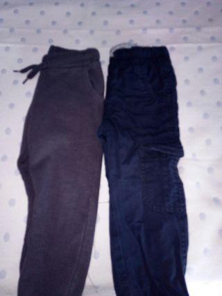 Dos pantalones niño 2-3 años