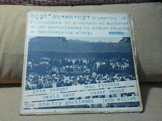 LP de HOOTENANNY ( PETE SEEGER ETC ) ( FOLK )