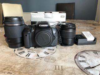 Camara reflex canon 650D