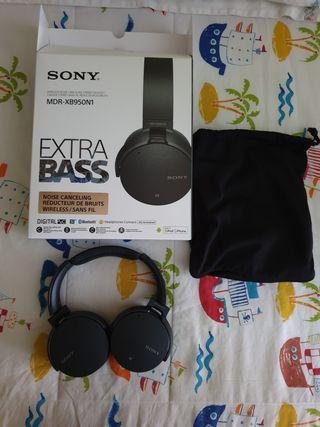 Auricular Bluetooth Sony MDR XB950N1 - Negro