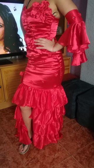 vestido fiesta muy bonito