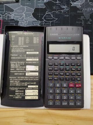 calculadora científica Casio FX-100w
