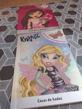 2 libros Bratz