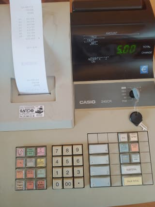 Caja registradora Casio 240CR