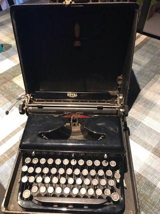 Màquina d'escriure Royal