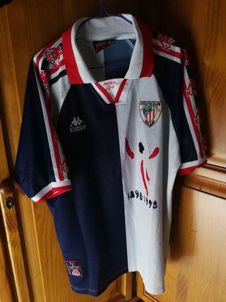 camiseta centenario de Athletic club