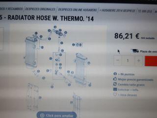 Caja termostato KTM