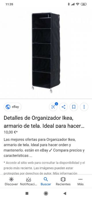 Organizador ikea