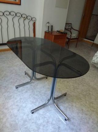Mesa cristal comedor o despacho (reuniones)