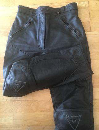 Pantalón piel mujer Dainese T42 (TS)