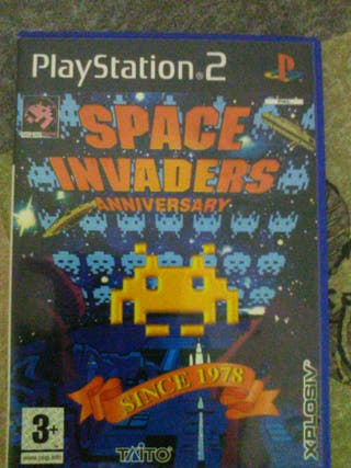 spacer invaders ps2