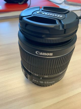 Objetivo Canon EFS 18-55 IS