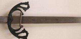 Espada del Cid Tizona