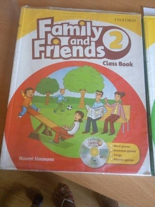 Libros Inglés Family and Friends