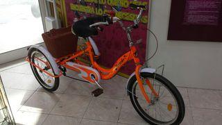 Riscko Triciclo para Adultos Naranja