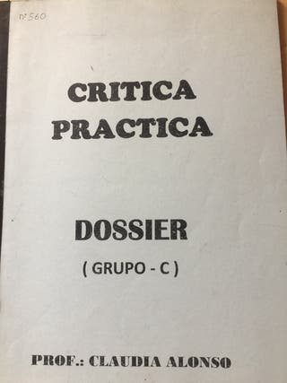 Dossier Crítica Práctica