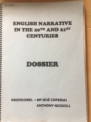 English Narrative in the 20th and 21st Centuries