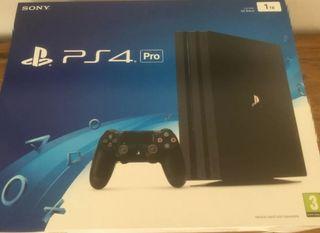 PS4 Pro black