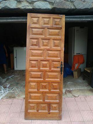 Puertas de interior madera maciza (Castellana)