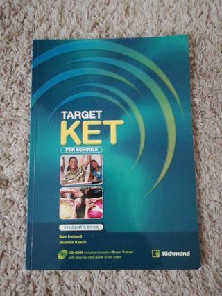 Libro ingles target KET