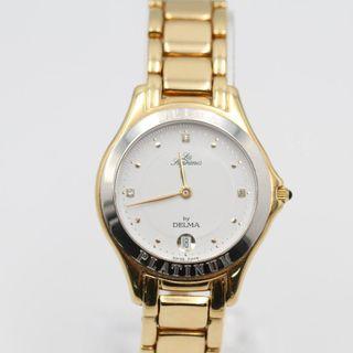 Reloj DELMA de oro de segunda mano E333801A