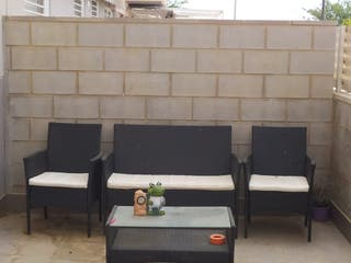 Conjunto de terraza