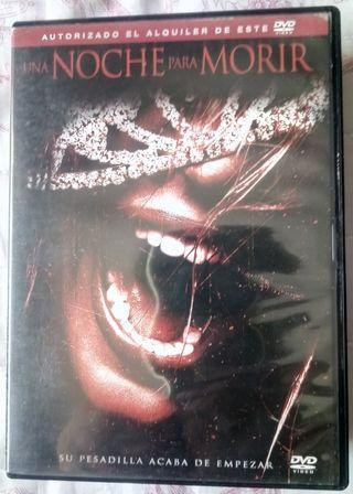 una noche para morir dvd