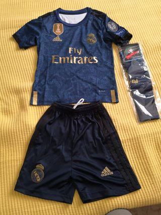 Segunda Equipacion Real Madrid.