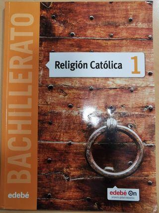 libro religión católica 1 Bachillerato Edebe