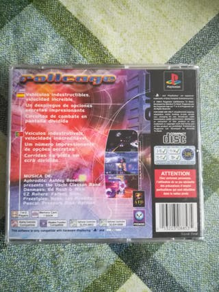 Rollcage Pal España Completo Ps1 Psx