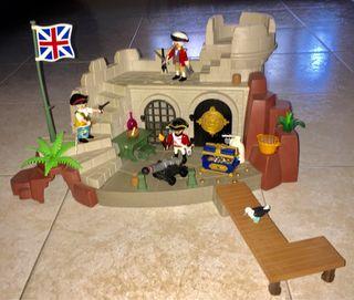 Playmobil castillo soldados ingleses