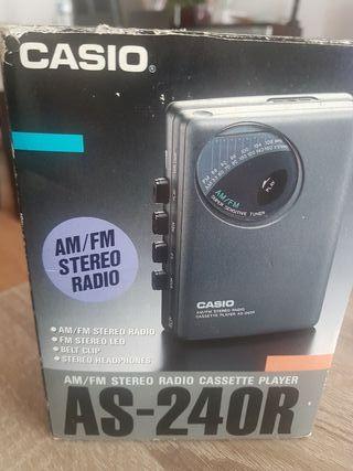 radio cassette stereo antiguo