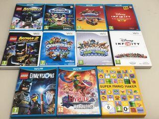 Juegos de Wii y Wii U