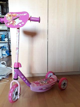 Patinete 3 ruedas, Patrulla Canina