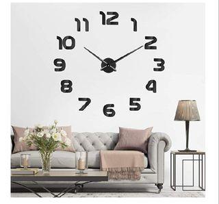 Reloj de pared 3D adhesivo nuevo